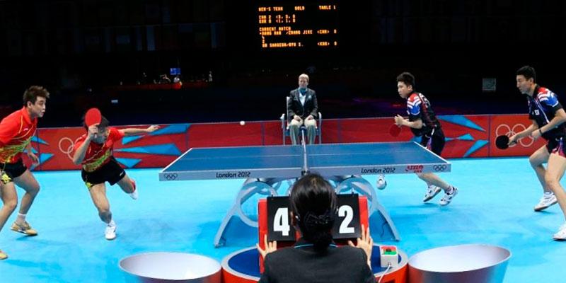 tanteo partido ping pong